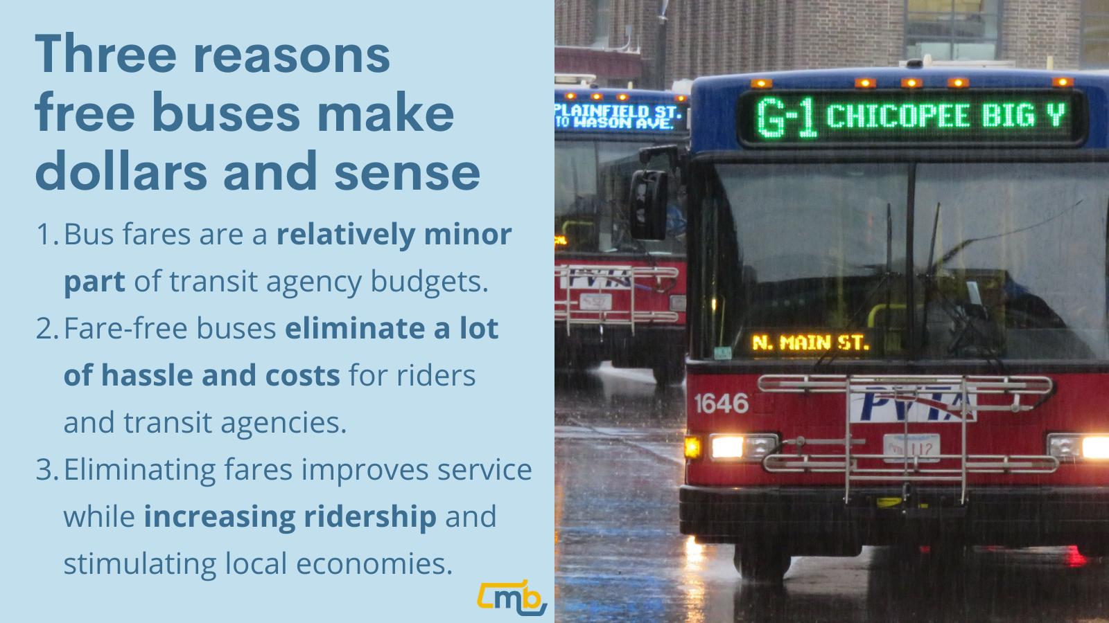 Three reasons free buses make dollars and sense